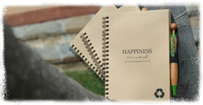 happiness Gratitude journal