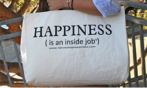 Harvesting Happiness Tote